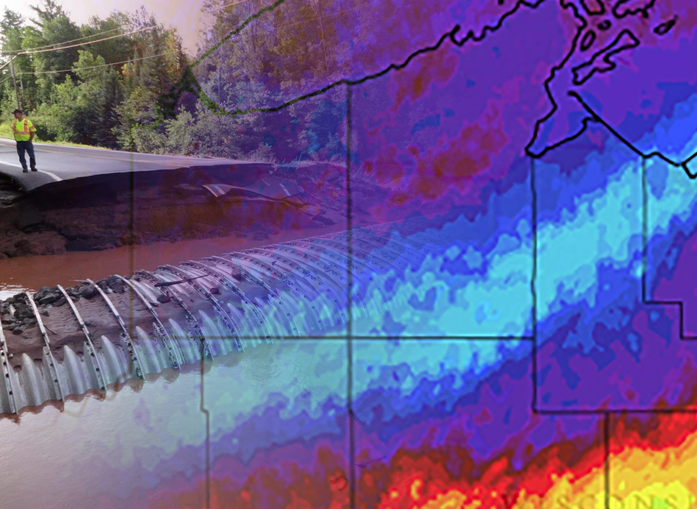 science-climate-flooding-money-infrastructure-costs-culvert-radar-illustration